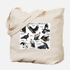 Vultures of the World Tote Bag