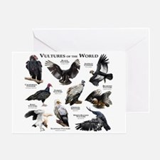 Vultures of the World Greeting Card