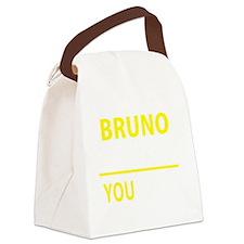 Unique Bruno Canvas Lunch Bag