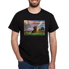 Cloud Angel & Dachshund T-Shirt