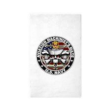 USN Aviation Machinists Mate Skull Flag 1 3'x5' Ar
