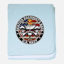 USN Aviation Machinists Mate Skull Flag 1 baby bla
