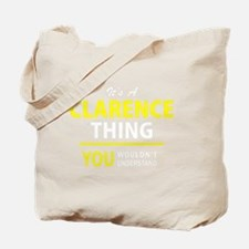 Funny Clarence Tote Bag