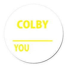 Colby Round Car Magnet