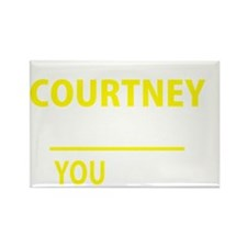Cute Courtney Rectangle Magnet