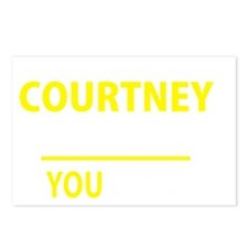 Unique Courtney Postcards (Package of 8)