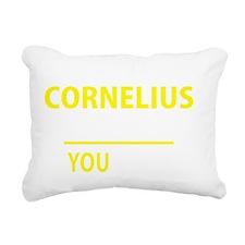 Funny Cornelius Rectangular Canvas Pillow