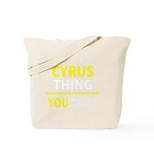 Cute Cyrus Tote Bag
