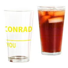 Cute Conrad Drinking Glass