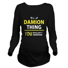 Unique Damion's Long Sleeve Maternity T-Shirt