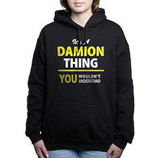 Cute Damion's Women's Hooded Sweatshirt