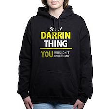 Funny Darrin Women's Hooded Sweatshirt