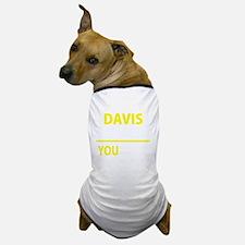 Unique Davis Dog T-Shirt
