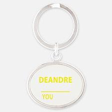 Cute Deandre Oval Keychain