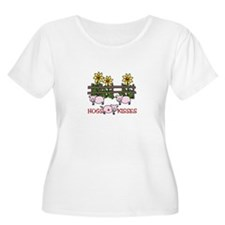Hogs Kissess Plus Size T-Shirt