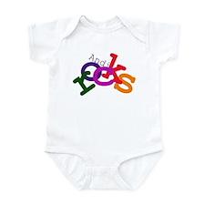 Andi Rocks Infant Bodysuit