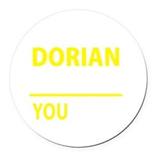 Cute Dorian Round Car Magnet
