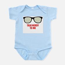 Unique Talk nerdy to me Infant Bodysuit