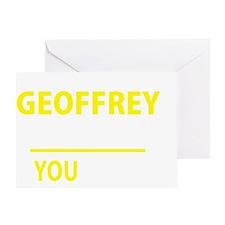 Unique Geoffrey Greeting Card