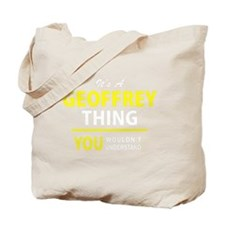 Unique Geoffrey Tote Bag