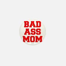 bad-ass-mom-FRESH-RED Mini Button