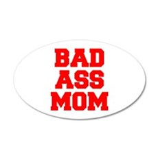 bad-ass-mom-FRESH-RED Wall Decal