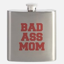 bad-ass-mom-FRESH-RED Flask