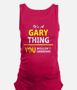 Cute Gary Maternity Tank Top