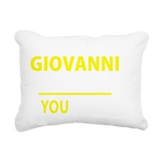 Funny Giovanni Rectangular Canvas Pillow