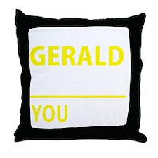Cool Gerald Throw Pillow