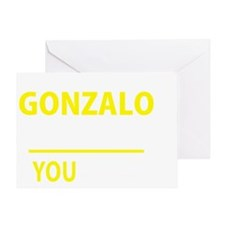 Unique Gonzalo Greeting Card