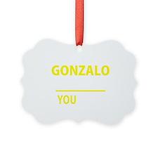 Cute Gonzalo Ornament