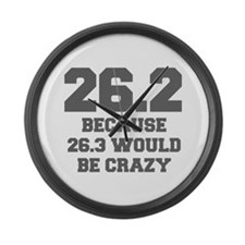 BECAUSE-26.3-WOULD-BE-CRAZY-FRESH-GRAY Large Wall