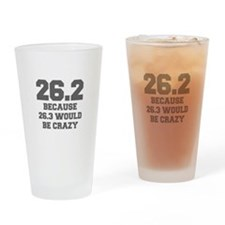 BECAUSE-26.3-WOULD-BE-CRAZY-FRESH-GRAY Drinking Gl