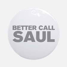 better-call-saul-AKZ-GRAY Ornament (Round)