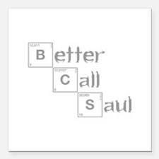 better-call-saul-breaking-gray Square Car Magnet 3