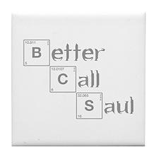 better-call-saul-breaking-gray Tile Coaster