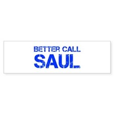 better-call-saul-cap-blue Bumper Bumper Sticker