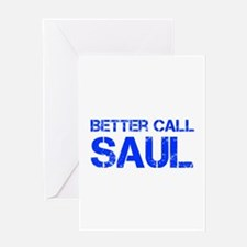 better-call-saul-cap-blue Greeting Cards