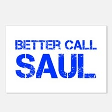 better-call-saul-cap-blue Postcards (Package of 8)