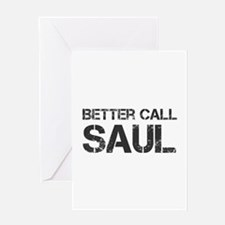 better-call-saul-cap-dark-gray Greeting Cards