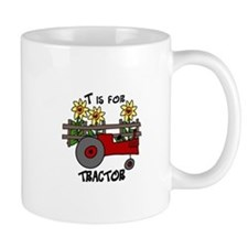 T is for Tractor Mugs