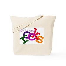 Arianna Rocks Tote Bag