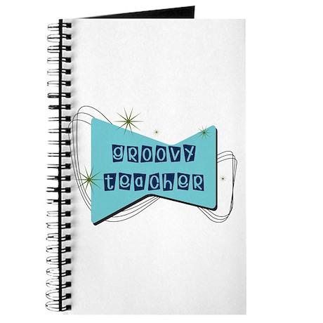 Retro Teacher Gifts Journal