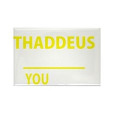 Cute Thaddeus Rectangle Magnet