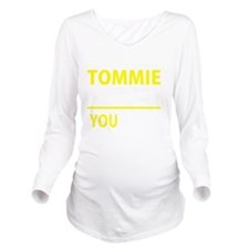 Cool Tommy Long Sleeve Maternity T-Shirt