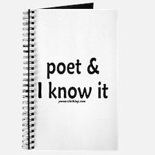 Poet & I Know It Journal