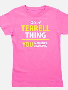 Unique Terrell Girl's Tee