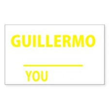 Cute Guillermo Decal