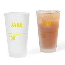 Cute Jake Drinking Glass